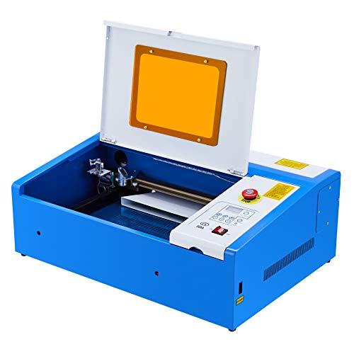 Orion Motor Tech Macchina per Incisione Laser CO2 Incisore Laser 40W 200 X 300mm Stampante Laser Engraver con Connettore USB Universale