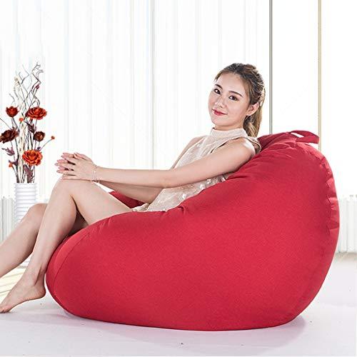 Canapé Paresseux Lazy Sofa – fauteuil voor slaapbank – fauteuil voor volwassenen, fauteuils, superzacht, 100 x 120 cm – bekleding van zachte microvezel – vulling van milieuvriendelijke deeltjes A06