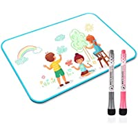 Junya White Board with Markers for Kids