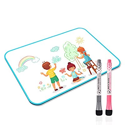 Junya White Board for Kids, 11.8 x 8.3 Inches D...