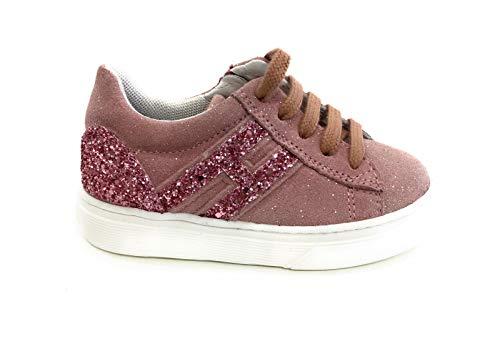 Hogan Rebel Bambina HXT3400K390M9Z Rosa Sneaker Inverno 27