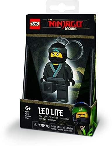 LEGO 4895028519131 Ninjago Minitaschenlampe-NYA Circa 7,6 cm, schwarz