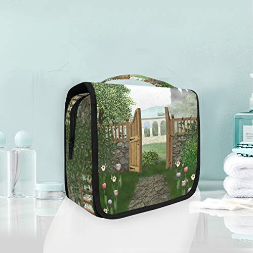 Make-up cosmetische tas hek tuin draagbare opslag reizen toilettas