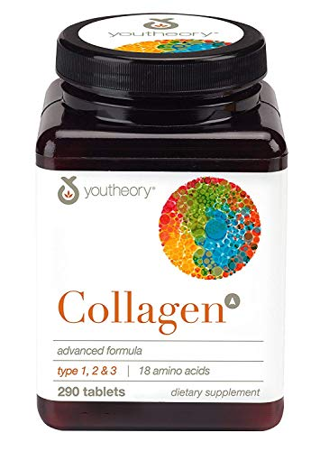YOUTHEORY Collagen - Advanced Formula 290 Tablets