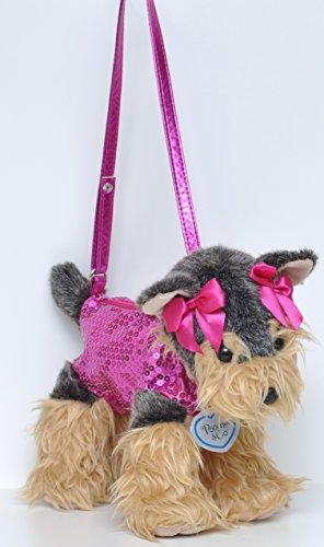 Poochie and Co sac chien pour enfant - cutie purse Yorkshire (rose)