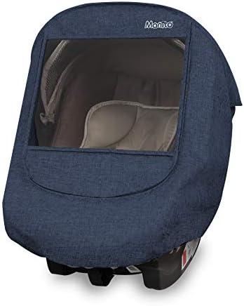 Manito Melange Infant Car Seat Weather Shield Navy product image