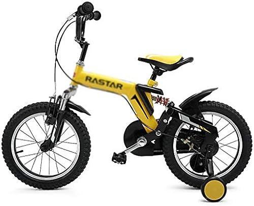 Kinderfürr r Singlespeed-fürrad Laufrad Für Jungenjungen Schüler Im Freien Frühlingsfürrad, Geeignet Für Kinder Von 3-10 Jahren (Farbe   Gelb, Größe   12inches)