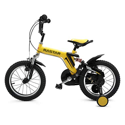 Buy Bargain Kids' Bikes Children's Bicycle Single Speed Bicycle Boy Bicycle Student Outdoor Mountain Bike Spring Bicycle, Suitable for Children Aged 3-10 (Color : Yellow, Size : 16inches)