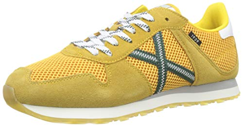 Munich Massana amarillas, Zapatillas Unisex Adulto, Amarillo (Mostaza 317), 42 EU