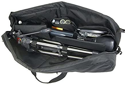 """Kuool Camera Protective and Padded Telescope Carry Case - 37.7"""" L X 9.8"""" w X 9"""" H, Cam Bag"""