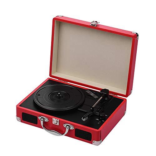 Tocadiscos portátil Tocadiscos Classic Suitcase Style 3