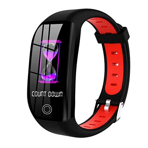 Bluetooth Smartwatch Fitness Uhr Smart Armbanduhr Fitness Tracker Sportuhr Mit Kamera SchrittzäHler Schlaf Tracker Kompatibel Kompatibel mit Android & Ios Smartphone (Mehrsprachige UnterstüTzung)