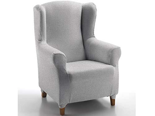 CAÑETE - Funda sillón Orejero Noa - Color Plata