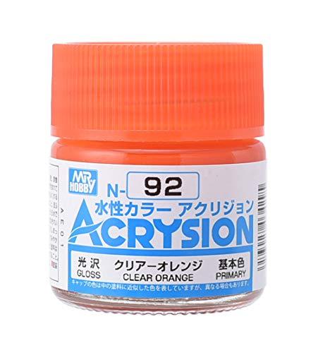 GSIクレオス アクリジョン クリアーオレンジ 10ml 模型用塗料 N92