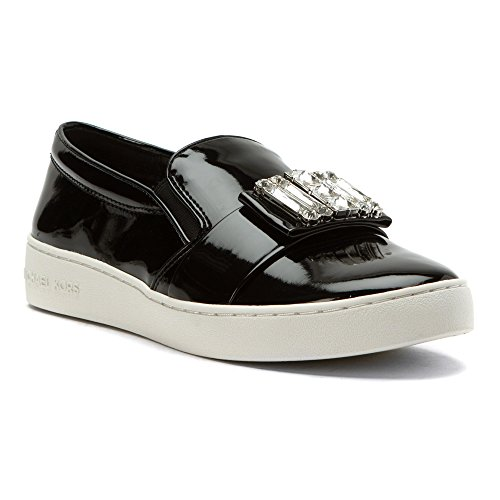 Michael Michael Kors Women's Michelle Slip On Sneakers, Black, 8 B(M) US