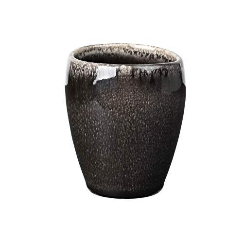 broste Copenhagen 14533091 Nordic Coal Espresso Becher ohne Henkel 0,1l (1 Stück)