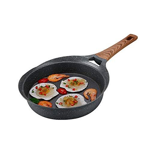 CHENTAOCS Maifanshi Pan, antiaanbakplaat, koekenpan, inductiekookplaat Gas Fornuis Universele Huishoudelijke Kleine Pot, Steak Omelette Pancake Pot, de beste keuze