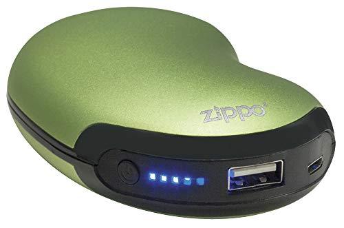 Zippo Heatbank 6 Wiederaufladbare Lithium Eisen Handwärmer mit Power Pack - Grün, Size 6H