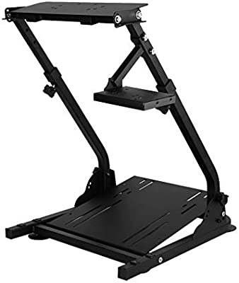 Belovedkai Racing Simulator Stand, Steering Racing Wheel Stand for G27 G29 PS4 G920 T300RS 458