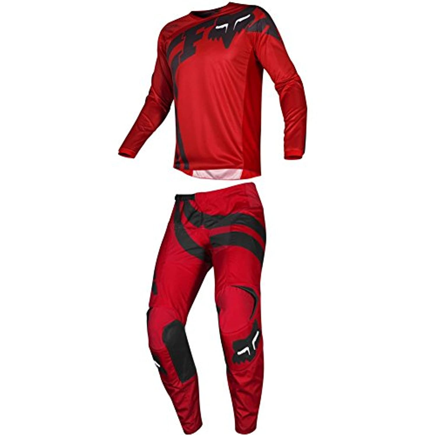 Fox Racing 2019 180 COTA Jersey and Pants Combo Offroad Gear Set Adult Mens Red Large Jersey/Pants 36W