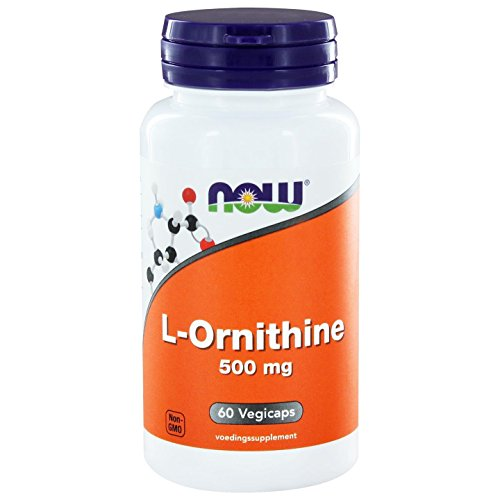 L-Ornithine 500 mg 60 Kapseln NOW