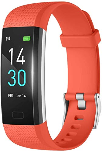 Gymqian Smart Watch, Dial Ui de la Pantalla Hd de 0.96 Pulgadas, Recordatorio Sedentario de Sueño Inteligente, Realice un Seguimiento de la Pulsera de Movimiento de la Caloría de la