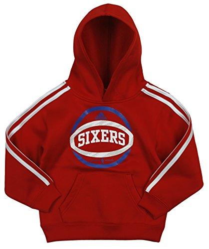 adidas Philadelphia 76ers NBA - Sudadera con capucha (3 rayas)
