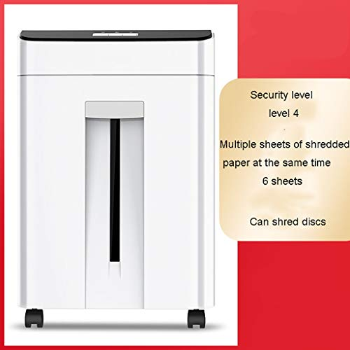 Read About TUCY Quiet Shredder with Wheel, Electric Paper Shredder,Overload and Thermal Protection, ...