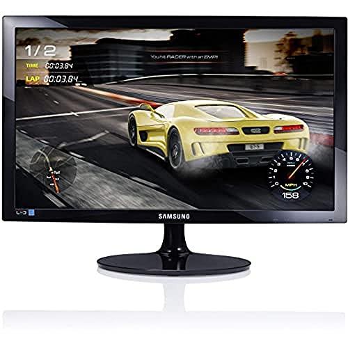 Samsung S24D330H - Monitor de 24'(1920 x 1080 pixeles, LED, Full HD, 1000:1), color negro