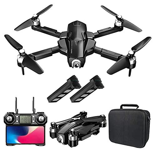 DCLINA Drone Pieghevole con Fotocamera 4K HD FPV Drone GPS per Adulti Droni quadricottero Motore Senza spazzole 1000M Distanza Telecomando 110 ° Telecamera grandangolare