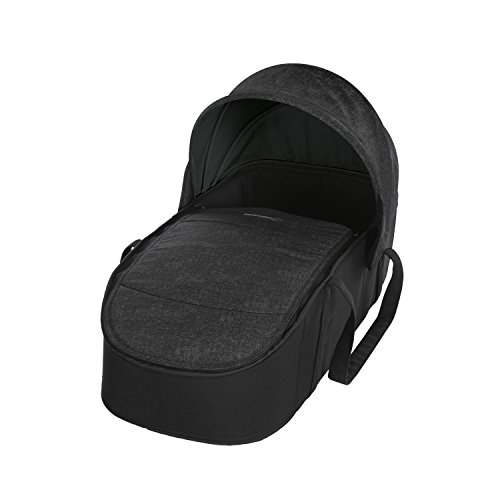 Bébé Confort CAPAZO BLANDO LAIKA 'Nomad Black' - Capazo Blando, exclusivo para cochecito Laika, color negro