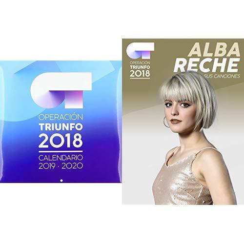 Pack Operación Triunfo 2018: Somos + Calendario + Alba Reche: Sus canciones