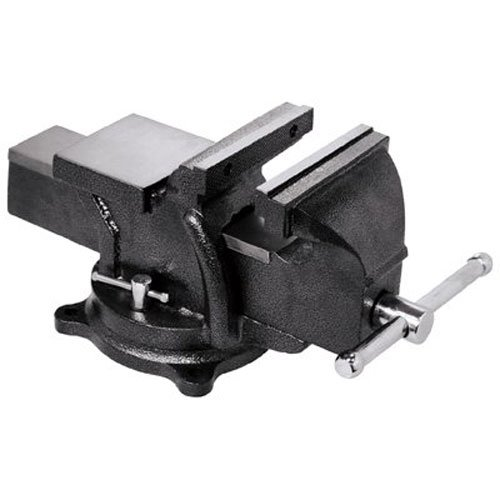 "Bessey BV-HD60 Heavy Duty Bench Vise, 6"", Hammer Tone Gray"