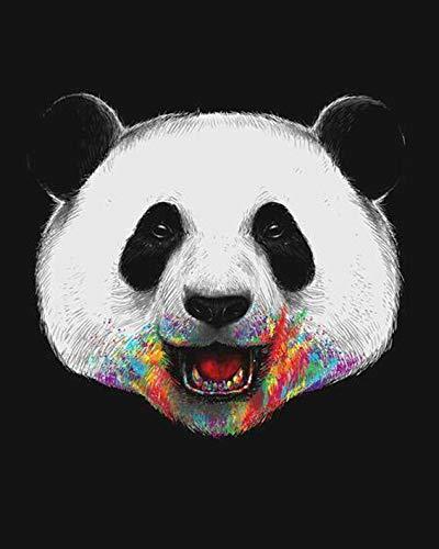 Puzzle 1000 Piezas Regalo de decoración de Imagen de Panda Animal Puzzle 1000 Piezas clementoni Rompecabezas de Juguete de descompresión intelectual50x75cm(20x30inch)