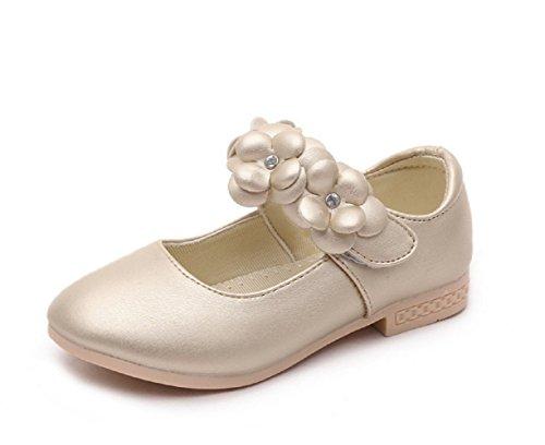 マソンナーニ Masonanic キッズフォーマルシューズ 子供靴 ワンストラップ フラワー飾り ガール 女の子 発表会