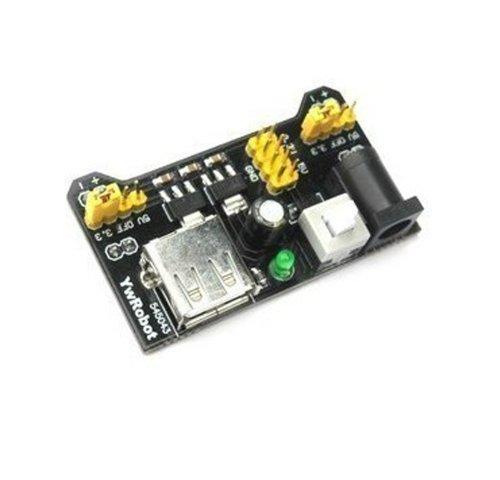 JMT Planche à pain Power Supply Module Compatible 3.3V 5V module de puissance MB-102 sans soudure pain Conseil bricolage