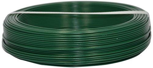 Corderie Italiane 002014065 Filo Ferro Plastica, Verde, 1.6 mm, 100 m