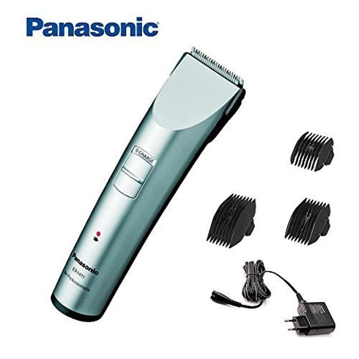 牛肉親愛な優越New Panasonic ER1411 ER-1411 ER1411s Cord/Cordless Professional Hair Clipper by Panasonic [並行輸入品]