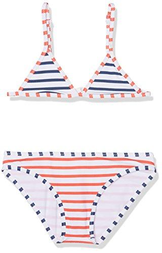 Pepe Jeans Mädchen Stripe Jr Bikini Unterhemd, Mehrfarbig (Multi), 8 Jahre (Herstellergröße: 8)