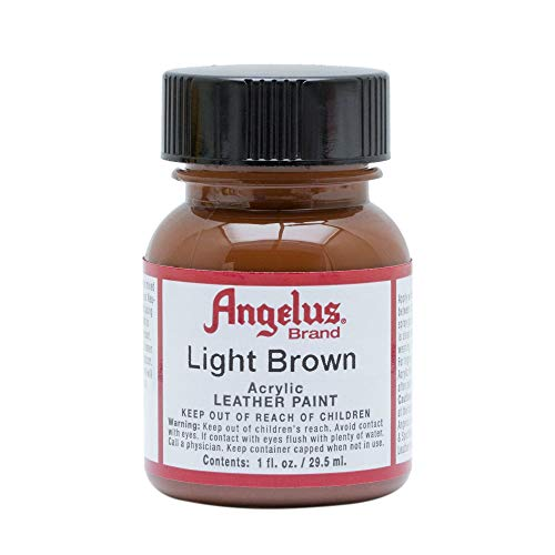 Angelus Leather Paint 1 Oz Light Brown