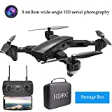 H13 5MP WiFi FPV Drone with 1080P HD Camera, Optical Flow RC Drone Quadrocopter Gesture Control RC Quadcopter for Beginners with Altitude Hold, Gravity Sensor, One Key Take Off/Landing (BLACK)
