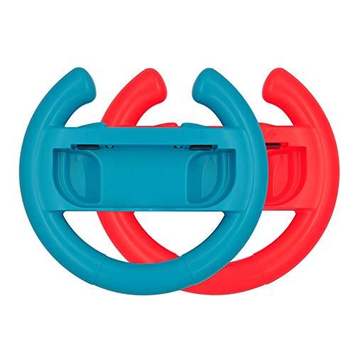 GMN Mango del Controlador del Volante para Nintendo Switch 1 par para Switch Joy-con Blue + Red