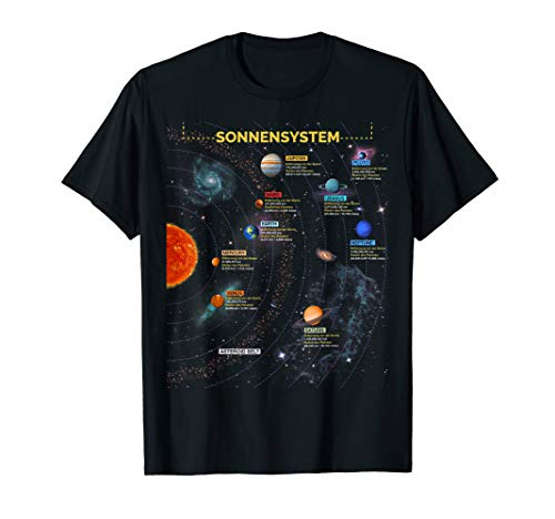 Sonnensystem T Shirt - Super Geschenk für Space Geeks T-Shirt