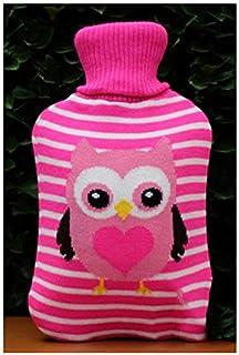 Warmwaterkruik, cadeauset, hals, taille, benen, buik, verjaardag, beste cadeaus voor geliefden, ouders en kinderen, roze u...