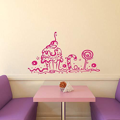 hetingyue fotobehang bakkerij café keuken decoratie schattige cake cake interieur design Home Mural Art