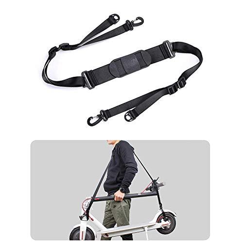 MHOYI Verstellbarer Schultergurt, Tragbar Tragegurt Handtragegriff Schultergurt, Scooter Zubehör für Elektroroller,Kinder Fahrräder,Faltbare Fahrräder,Scooter Zubehör.