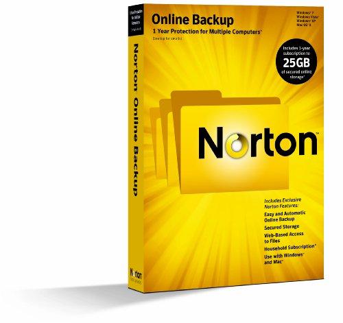 Norton Online Backup 2.0 - 1 User / 25GB [Old Version]