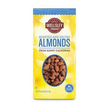 Wellsley Farms Almonds 40 Max 48% OFF x2 New arrival SA oz.