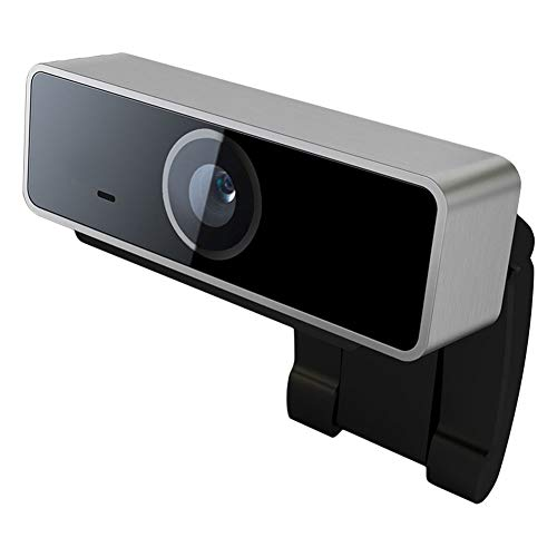 Cámara web LNLJ HD 1080P con micrófono, enfoque automático Plug and Play, base giratoria, videoconferencias y videoconferencias, compatible con varios sistemas