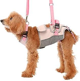 With(ウィズ) 歩行補助ハーネス LaLaWalk 小型犬・ダックス用 スイートグレンチェック M サイズ